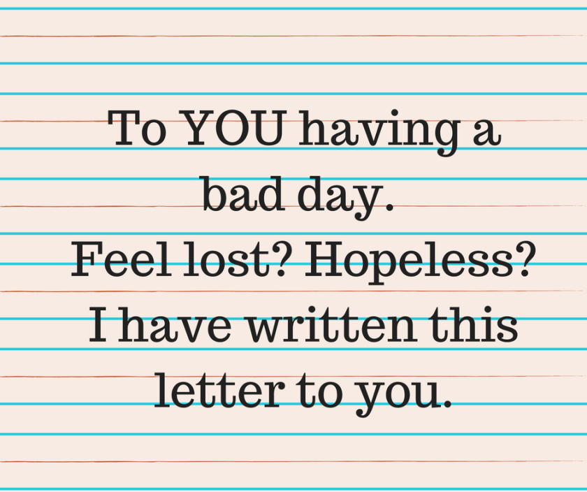 mental health awareness letter of hope