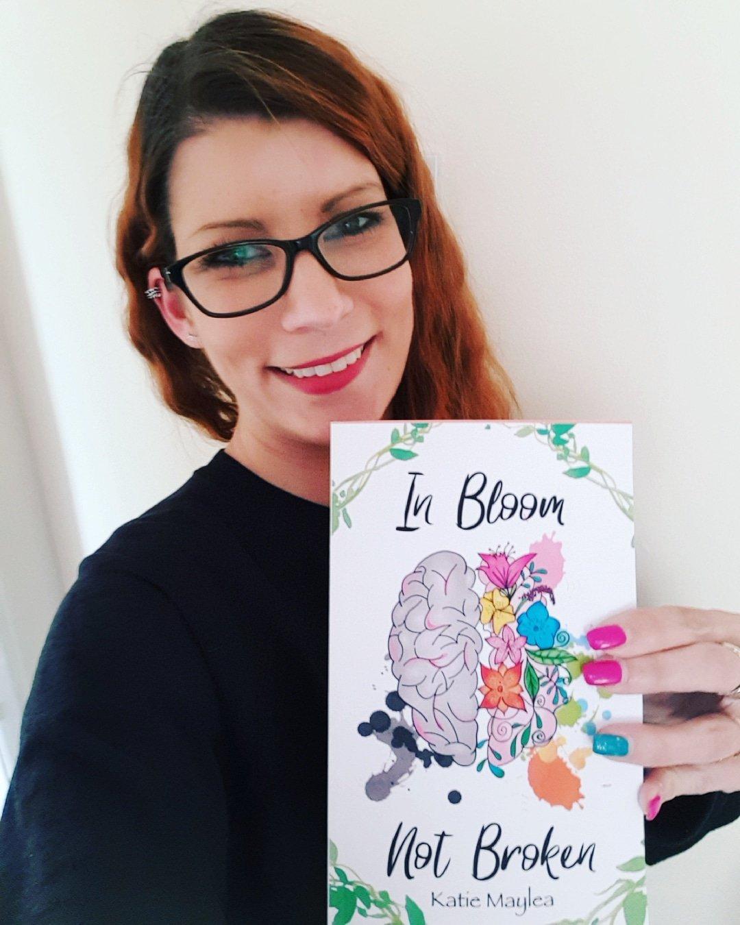 In Bloom Not Broken - Mental health book - Mental health awareness