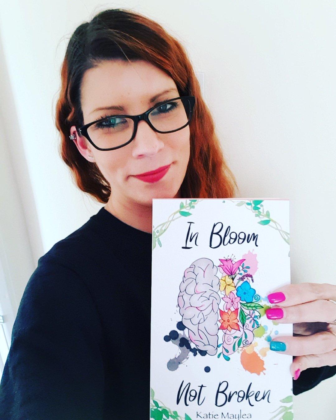 Katie Maylea - Mental health - In Bloom Not Broken